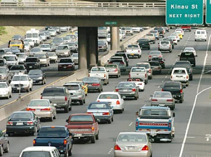 Congested: Honolulu Traffic is Nation's 2nd Worst