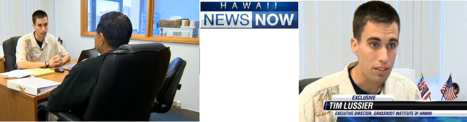 Executive Director Tim Lussier interviewed on Hawaii News Now