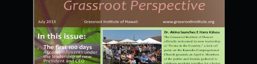 LOOK: Grassroot Perspective Magazine: 120 days full of events and success!