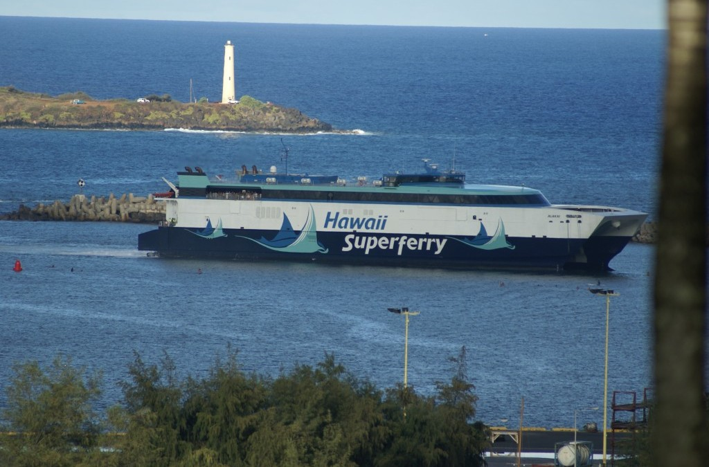 Nine Ferry-Related Bills in the Hawaii State Legislature Down to One