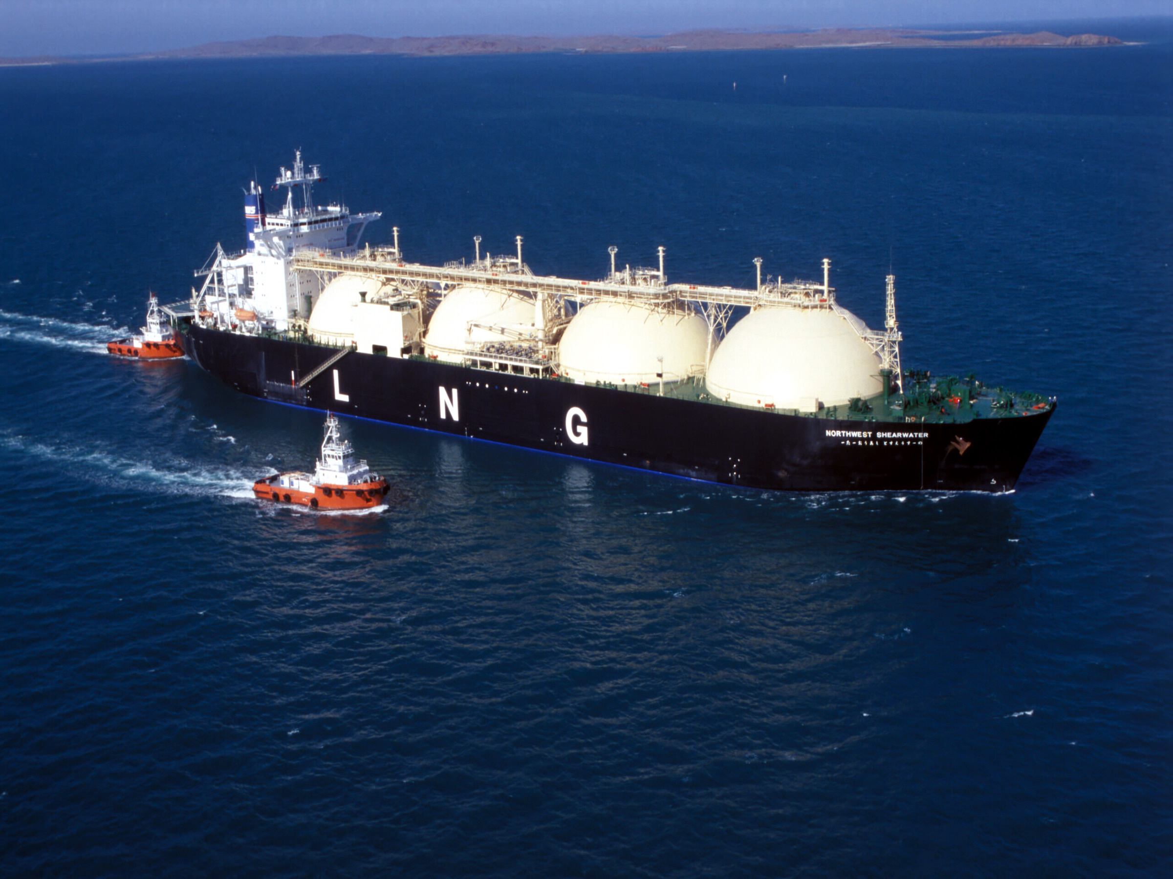 No Jones Act tankers are capable of carrying liquid natural gas