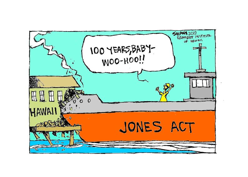 'The Jones Act isn't just inefficient, it's failed'