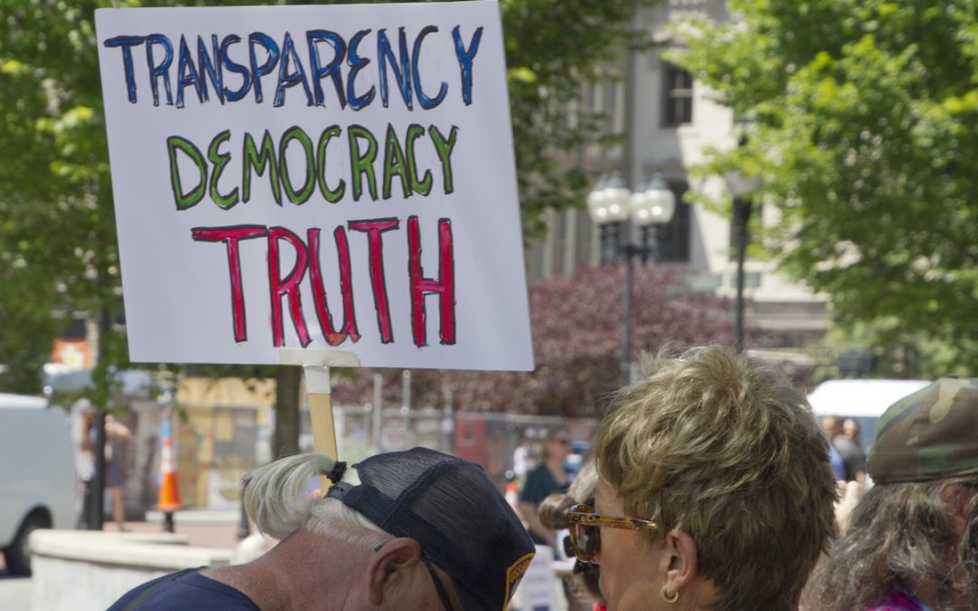 Government transparency critical at all times