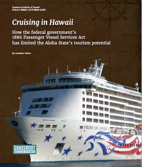 Old federal maritime law holds back Hawaii tourism, new report shows