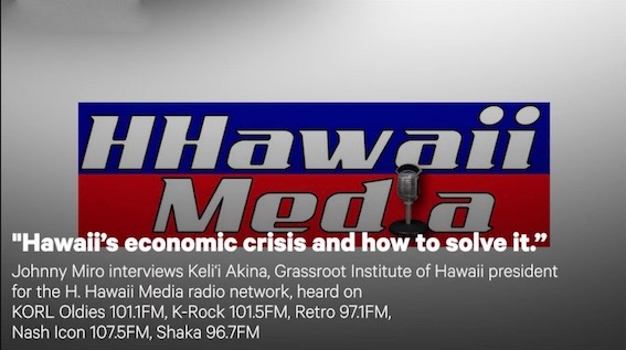 'Hawaii's economic crisis and how to solve it'