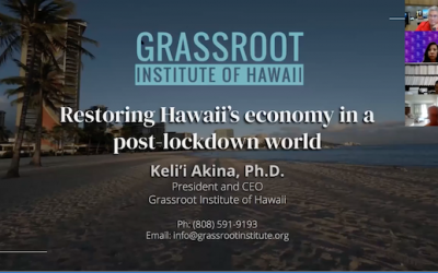 Akina gets fiscal with the Hawaii Society of CPAs