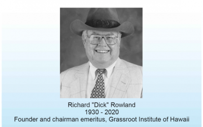 Dick Rowland was devoted to making a difference — and he did