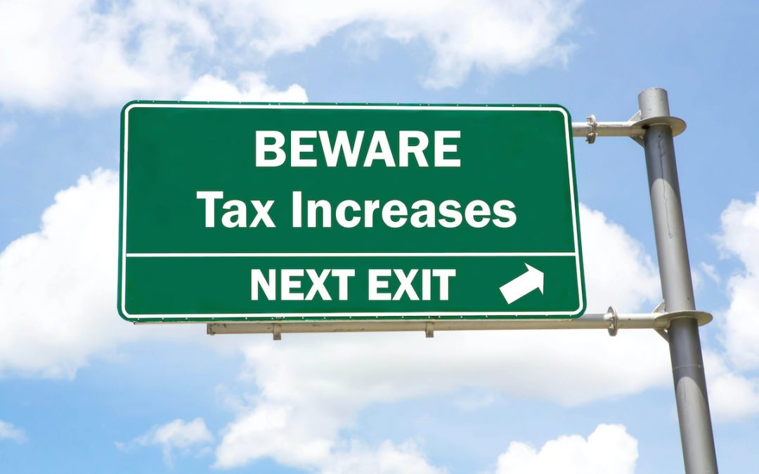 NEWS RELEASE: Governor being coy in new budget about tax increases totaling $1 billion