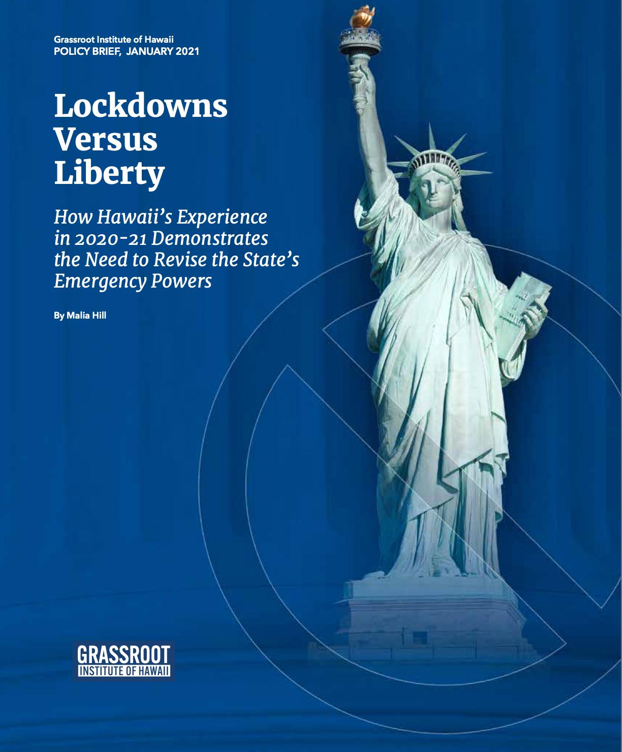 Liberty Versus Lockdown cover